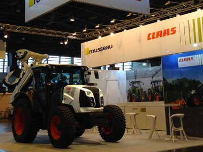 CLAAS - Stand INTEROUTE&VILLE 2016
